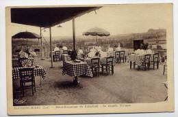 ALVIGNAC-MIERS--carte Publicitaire De L'établissement--Sa Grande Terrasse--éd Cim--verso Facture De L'hotel-restaurant - France