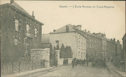 BELGIQUE COUVIN / L'Ecole Normale Et L'Ecole Moyenne / - Couvin