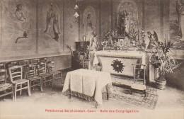 14 CAEN Pensionnat Saint-Joseph  Salle Des Congrégations - Caen