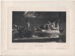 LES CHERIFAS Salon De 1884 - Lithographies