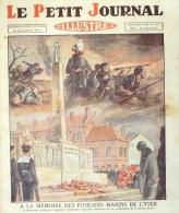 LE PETIT JOURNAL-1929-2031-DUNKERQ UE-COTES DU NORD-SAPEURS POMPIERS-STRASBOURG