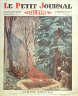 LE PETIT JOURNAL-1929-2033-GEORGES CLEMENCEAU PHILOSOPHE-MOUILLERON EN PAREDS