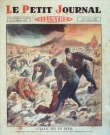LE PETIT JOURNAL-1930-2067-SEISME A NAPLES-VINCENNES CHPT ROULEURS DE TONNEAUX