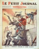 LE PETIT JOURNAL-1931-2115-BEAUVAI S JEANNE HACHETTE-HOOVER-GROTTES GALAMUS
