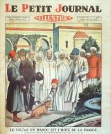 LE PETIT JOURNAL-1931-2121-SULTAN MAROC-RADIOPHONIE-VOL A VOILE-INDIGENE BALI/LA