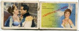CALENDARIETTO LE DONNE PIù BELLE DEL MONDO CINEMA ANNO 1957 - Calendriers
