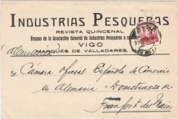 10676. Faja De Publicacion VIGO (Pontevedra) 1932. Revista Industrias Pesqueras - 1931-50 Covers
