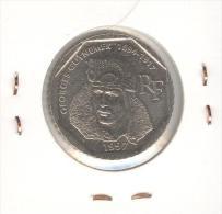 2 Francs CC France - Georges Guynemer 1997