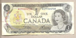 Canada - Banconota Circolata Da 1 Dollaro - 1973 - Canada