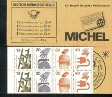 Markenheftchen 8 A Unfallverhütung Berlin Postfrisch ** MNH (2) - [5] Berlin