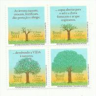 Brésil  N°3160 à 3163 Neufs** Cote 8 Euros - Brazil