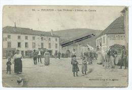 CPA- Pouxeux - Les Thillots- L´Hôtel Du Centre - Pouxeux Eloyes