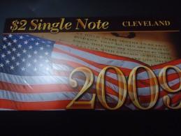 2003 - 2009 USA 2 DOLLARS ( CLEVELAND ) - UNC -