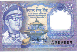 Nepal 1 Rupia  AÑO 1974 - Nepal