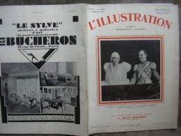 L�ILLUSTRATION 4532 MARIAGE ITALO BELGE/ AVIONS/ ARCHEVEQUE PARIS/ RUGBY/ PAGODES CAMBODGE 11 janvier 1930