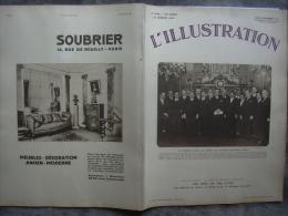 L�ILLUSTRATION 4643 CHINE/ HOCKEY SUR GLACE/ AVION/ PARIS/ MAROC 27 FEVRIER 1932