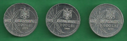 = ROMANIA - 500 LEI  - 1999  - 3 PIECES  - ECLIPSE  # 333 =  UNCIRCULATED - Rumänien