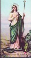 Sancta Martha, Santino  Con Dorature E  Preghiera (lingua Spagnola) - Religion & Esotérisme