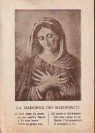 La Madonna  Dei Sordomuti, Santino Con Preghiera - Religione & Esoterismo