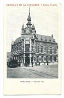 Carte Postale - MARIEMONT - Hôtel De Ville - Pub Chocolat De La Couronne - Tram - CPA  // - Morlanwelz