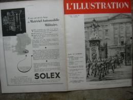 L�ILLUSTRATION 5069 FUNERAILLES VERDIER/ GENERAL HUNTZIGER/ ALSACE/ LEVANT 27 avril 1940