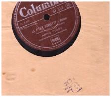 Disque 78 Tours La Fille Du Cov Bois La Ptite Sonnette  Annie Cordy  Columbia   Bf 554 - 78 T - Disques Pour Gramophone