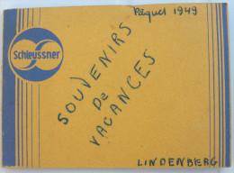 Petit Album Schleussner Souvenirs De Vacances  8 Photos 1949 LINDENBERG - Places