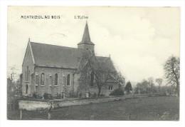 Carte Postale - MONTROEUL AU BOIS - L'Eglise - CPA  // - Frasnes-lez-Anvaing