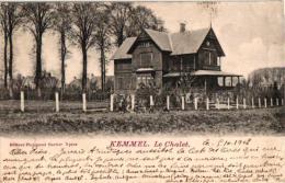 Kemmel  5 CPA   Plaats Kiosk  Dorpplaats Hotel Casino Central   Chalet Carpentier 1900   Chalet 1902  Grote Markt - Otros