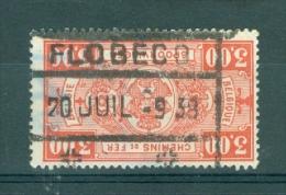 """BELGIE - OBP Nr TR 154 - Cachet  """"FLOBECQ"""" - (ref. VL-119) - Spoorwegen"""