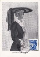 Carte Maximum AUTRICHE N° Yvert 745  (KARNTEN-LESACHTAL) Obl Sp Ill 1949 - Maximumkarten (MC)