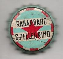 Tappo A Corona Rabarbaro San Pellegrino - Sulla Corona Stabilimenti Di San Pellegrino Terme - Kronkorken