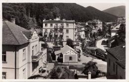 TRENC TEPLICE (Böhmen) Vilovà Ctvrt - Pension Villa Mary Sehr Schöne Seltene Fotokarte Um 1940 - Böhmen Und Mähren