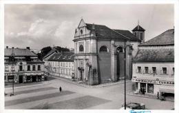 TURNOV (Böhmen) - Hauptplatz Geschäfte Fotokarte Gel.1942 - Böhmen Und Mähren