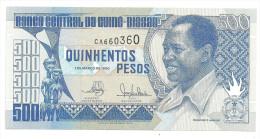 Guinea Bissau 500 Pesos 1990 UNC  .S. - Guinea-Bissau