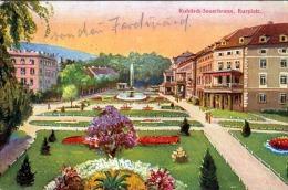 ROHITSCH SAUERBRUNN Kurplatz Gel.1917 Zensurstempel PETTAU - Slowenien