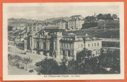 MAC-09  La Gare De La Chaux-de-Fonds. Cachet CDF 1922 - NE Neuchatel