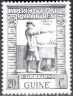 GUINÉ-1938, «Império Colonial Português»  20 C.   D. 13 1/3 X 13    ( * )   MNG  Afinsa Nº 227 - Portuguese Guinea