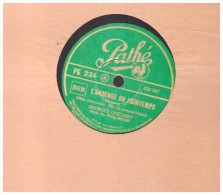 Disque 78 Tours    GEORGES GUETARY   Un Soir De Carnaval   L Auberge Du Sintamps  Pathe  Pg 234 - 78 T - Disques Pour Gramophone