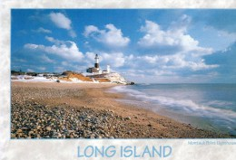 Postcard - Montauk Point Lighthouse, Long Island, USA. Dg-D71211 - Faros