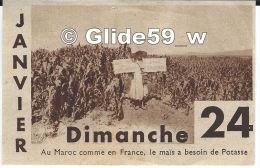 Image - Dimanche 24 Janvier - Au Maroc Comme En France, Le Maïs A Besoin De Potasse - Vieux Papiers