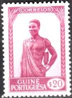 GUINÉ-1948,   Motivos Da Guiné.  $20    *  MH  Afinsa  Nº  250 - Portuguese Guinea