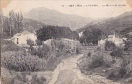 84 BEAUMES De VENISE  Coin Du VILLAGE  Petit Chemin  Maisons  Les BAINS Et Le MOULIN 1903 - Beaumes De Venise