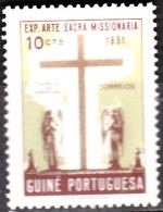 GUINÉ-1953,   Exposição De Arte Sacra Missionária.  10 C.    D. 13 1/2  ( * ) MNG  Afinsa  Nº  267 - Portuguese Guinea