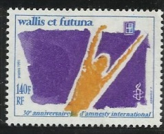 Wallis Futuna Islands 1991 Amnesty International 30th Anniversary MNH - Used Stamps