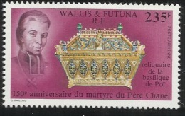 Wallis Futuna Islands 1991 Father Chanel 150th Death Anniversary  MNH - Used Stamps