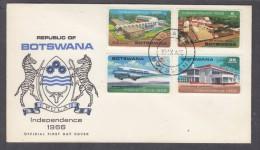 Botswana:  First Day Cover 1966  Independence - Botswana (1966-...)