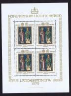 1979  Saint Patrons    Feuillet De 4 Timbres Michel 734 ** - Blocs & Feuillets