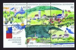 1999  300è Ann   Michel 1195-9  Bloc Feuillet Oblitéré Premier Jour
