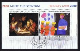 2000  Année Sainte    Michel 1224-5   Bloc Feuillet Oblitéré Premier Jour